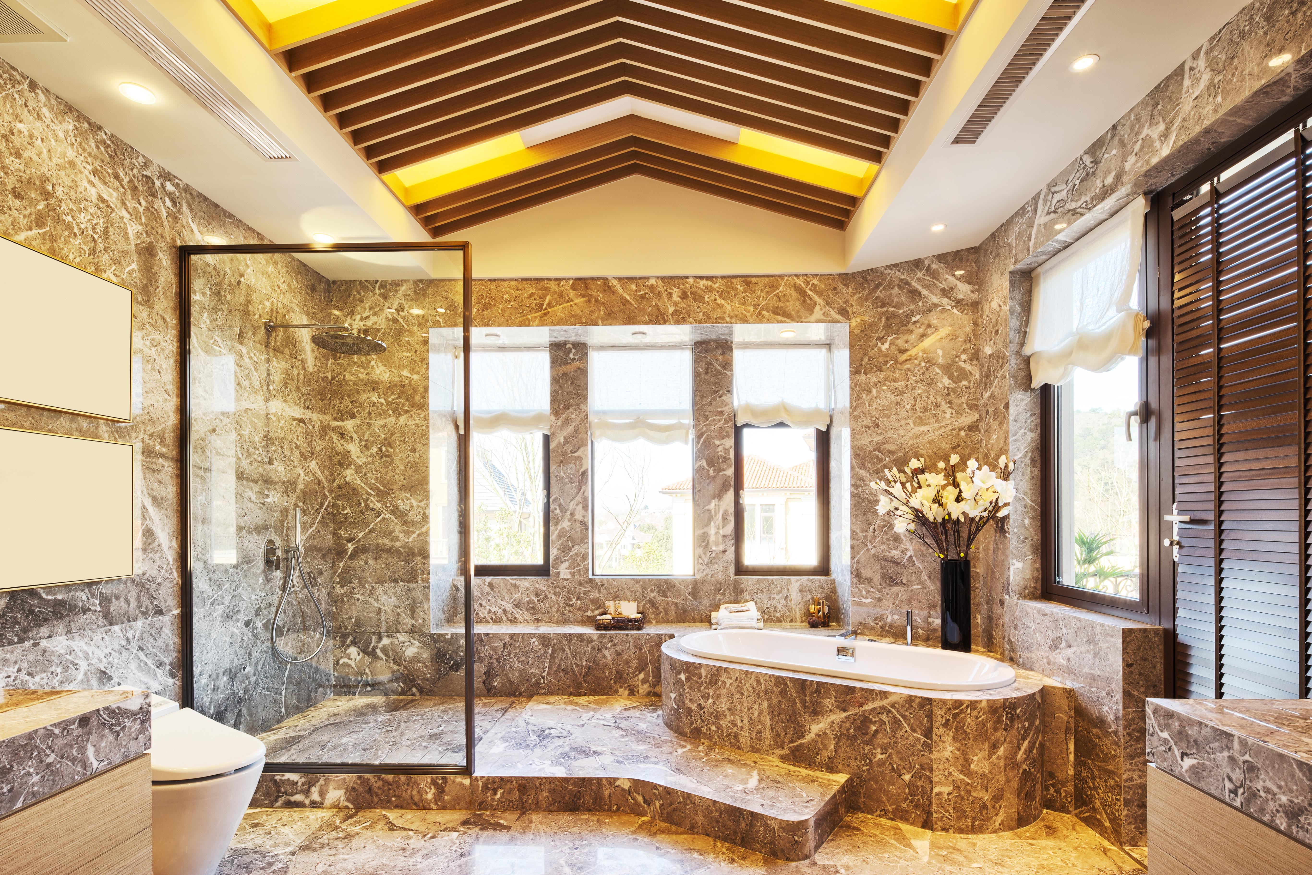 Wykończona łazienka