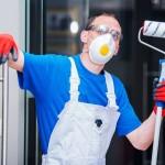 BHP podczas malowania mieszkania